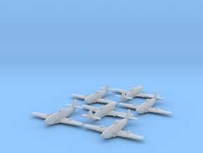 Messerschmitt Me 309 1/285 x6 FUD in Smooth Fine Detail Plastic