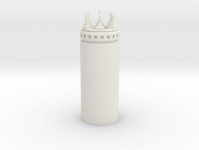 TR2 Full in White Natural Versatile Plastic
