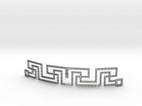 Urban Style Bracelet in Fine Detail Polished Silver