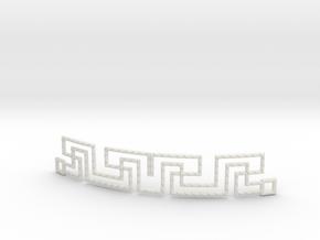Urban Style Bracelet in White Natural Versatile Plastic