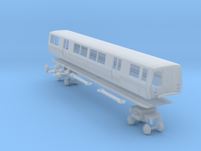 N Scale BART C Car Unpowered in Smooth Fine Detail Plastic