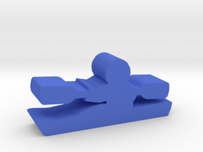 Game Piece, Kayak in Blue Processed Versatile Plastic