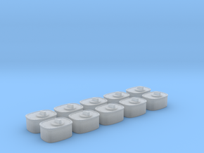 1/24 USN Wall Switch C SET in Smooth Fine Detail Plastic