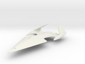 Avenger Class in White Natural Versatile Plastic