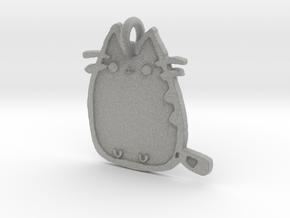 Pusheen Doodle Pendant! in Metallic Plastic