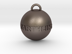 Earthling Pendant in Stainless Steel