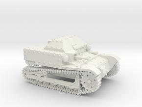 T27a Tankette (20mm) in White Natural Versatile Plastic