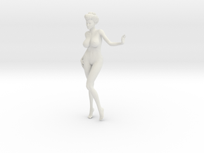 1/9 Elegant lady 019 in White Strong & Flexible