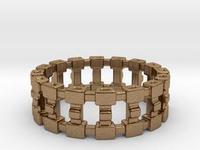 Treya Ring in Natural Brass