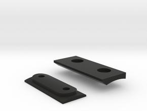 Dytac HK416 Geisele Handguard Slot Mount in Black Natural Versatile Plastic