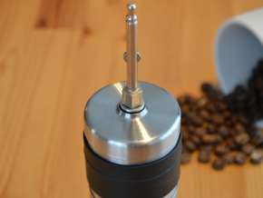 NEW! Coffee Grinder Bit For Hand Mixer CHP-A1RE in Polished Bronzed Silver Steel