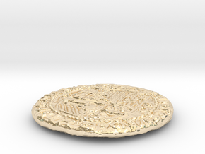 Uncharted: Spanish Gold Coin in 14k Gold Plated Brass