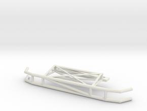 Sakura D4 heavy bashbar in White Natural Versatile Plastic