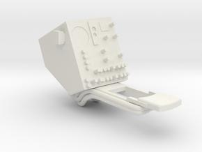 04A-LRV - Control Display 2 in White Natural Versatile Plastic