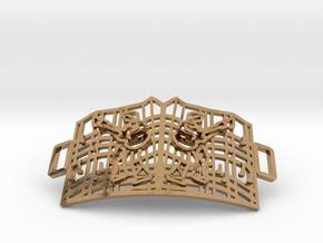 Graceland Gate Bracelet in Polished Brass