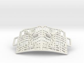 Graceland Gate Bracelet in White Natural Versatile Plastic