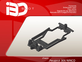 Chasis para Peugeot 306 NINCO in White Strong & Flexible