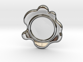 Wax Seal - Customizable Paper Weight! in Fine Detail Polished Silver