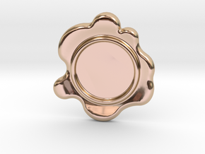 Wax Seal - Customizable Paper Weight! in 14k Rose Gold