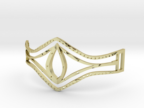 Eye Of Pharaoh Bracelet in 18k Gold Plated Brass