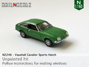 Vauxhall Cavalier Sports Hatch (N 1:160) in Frosted Ultra Detail