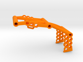SuDu Mod 3D Front Brace in Orange Processed Versatile Plastic