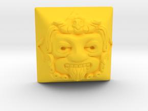 Tonatiuh (Topre DSA) in Yellow Processed Versatile Plastic