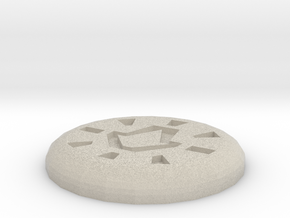 Body Rune in Natural Sandstone