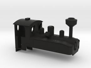 104300-01 1:43 Brigadelok Oberbau in Black Natural Versatile Plastic