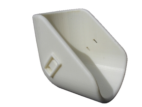 Armholder-5,5 in White Natural Versatile Plastic