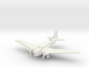 Douglas B-18A Bolo 1/144 in White Natural Versatile Plastic