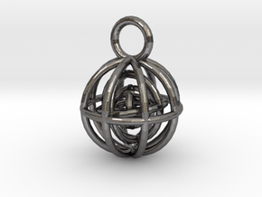 Charm: Spheres within Sheres in Polished Nickel Steel