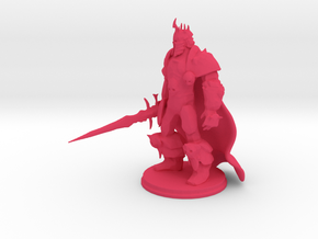 Arthas: Lich King from World of Warcraft (cape)  in Pink Processed Versatile Plastic