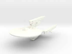 Federation Class Mk VI Heavy Dreadnought in White Strong & Flexible Polished