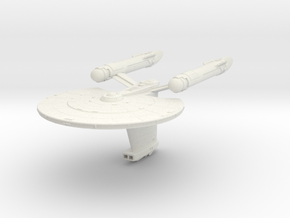 Parker Class   New Axanar Ships in White Natural Versatile Plastic