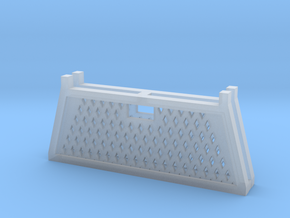 Pickup Truck Cab Guard Grid Style 2pack 1/87 HO Sc in Smooth Fine Detail Plastic