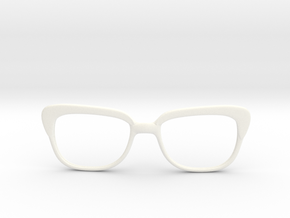Optoid Hybrid MkXI: Custom Fit Rx Eyewear in White Processed Versatile Plastic