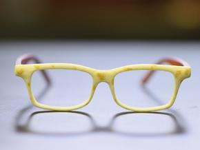 Optoid Hybrid MkXII: Custom Fit Rx Eyewear in White Processed Versatile Plastic