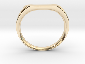 Ring - Personalized Occasion in 14K Yellow Gold