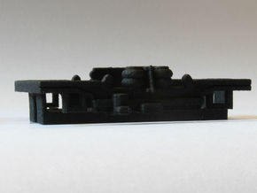 Brussels metro M1 Bogie in Black Strong & Flexible