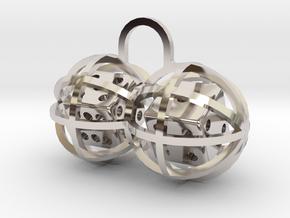 Charm: Lucky Balls in Platinum