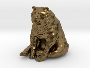 Bear in Natural Bronze