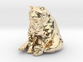 Bear in 14K Yellow Gold