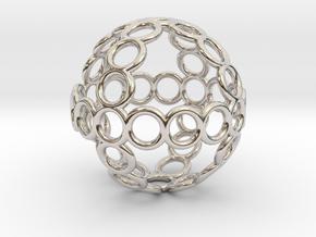 Charm: Sphere of Rings in Platinum