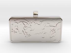 Customizable Raijin Fujin Name Tag v2 in Platinum