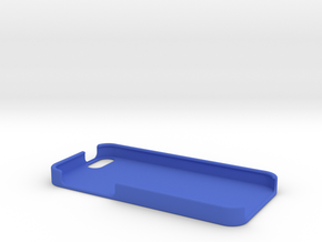 iPhone 5/SE Case in Blue Processed Versatile Plastic