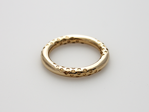 Bubbles - Precious Metals in 14k Gold Plated Brass: 5.5 / 50.25