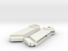 Plotter 1520 Coil Mounts (Left/Right) in White Natural Versatile Plastic