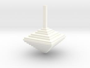 Pixel Top 1.0 in White Processed Versatile Plastic