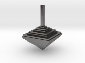 Pixel Top 1.0 in Polished Nickel Steel